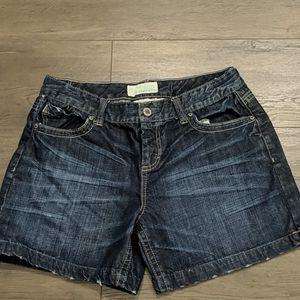 3/$20 Maurices Taylor Short in Dark Denim Wash